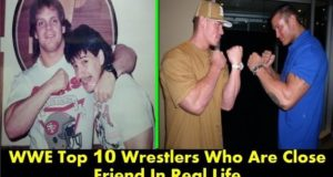 Top 10 Shocking WWE Wrestlers Friendships(Close Friend) in Real Life
