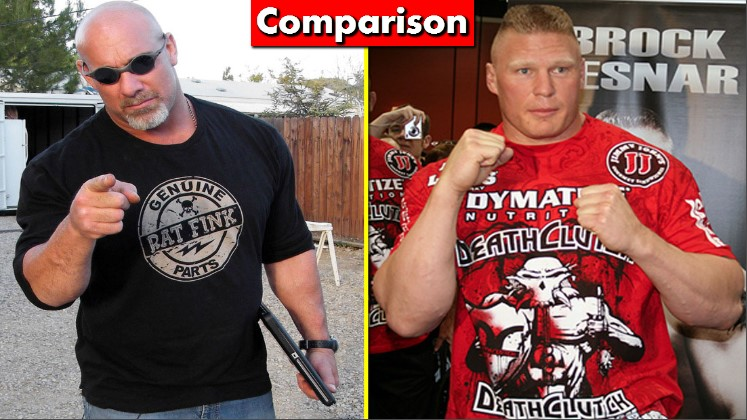 Photo of Brock Lesnar Vs Goldberg Comparison(Biography★Wife★Family★Income★Net Worth★ Finisher)