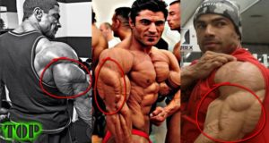 Top 5 Body Builder With Biggest Triceps in the world