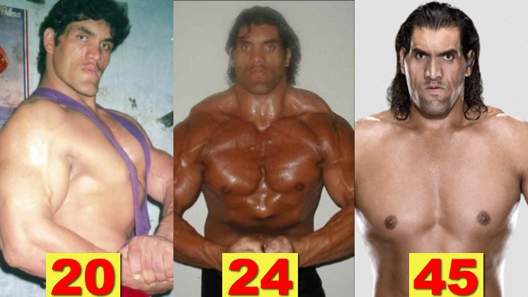 Photo of WWE Great Khali ★Transformation From 17 To 45 Years Old★