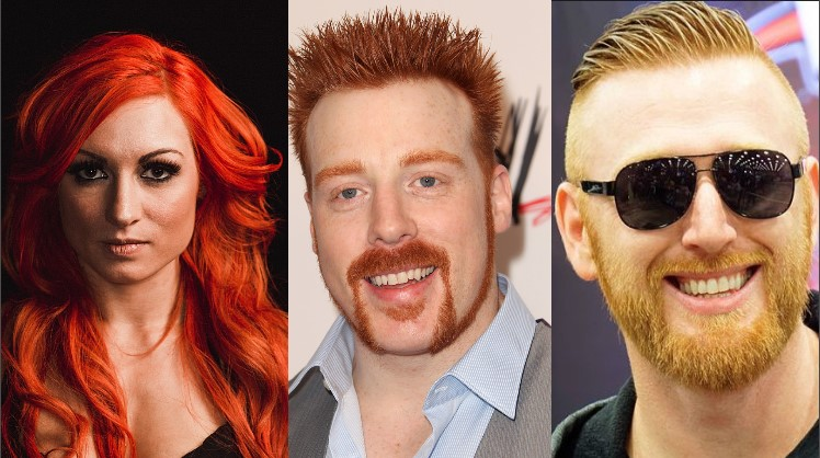 Photo of WWE Top 12 Shocking Superstars and Divas With Red Hair in Real Life