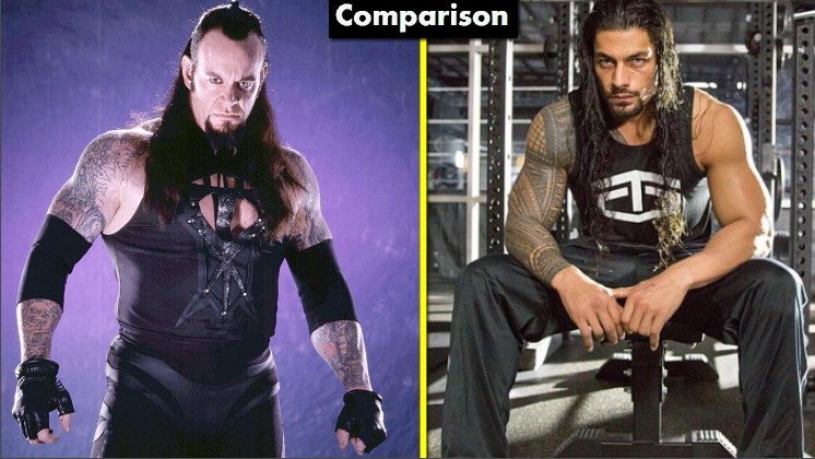 Photo of The Undertaker Vs Roman Reigns Comparison(Biography★Wife★Family★Income★Net Worth★ Finisher)