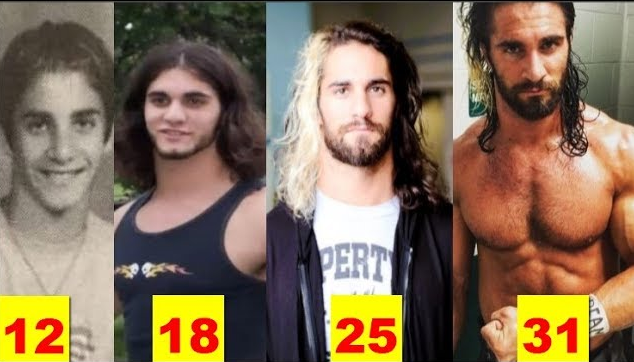 Photo of Seth Rollins ★Transformation From 5 to 32 Years Old★