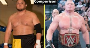 Brock Lesnar Vs Samoa Joe Comparison(Biography★Wife★Family★Income★Net Worth★ Finisher)