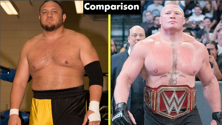 Photo of Brock Lesnar Vs Samoa Joe Comparison(Biography★Wife★Family★Income★Net Worth★ Finisher)