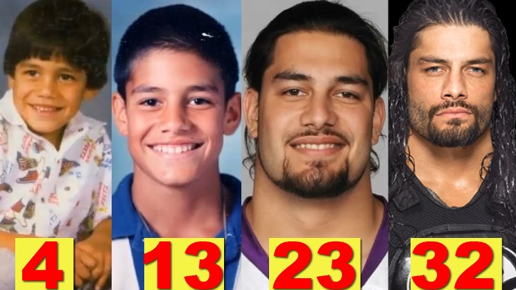 Photo of WWE Roman Reigns ★Transformation From 1 To 32 Years Old★