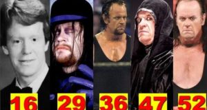The Undertaker★Transformation From 12 To 52 Years Old★