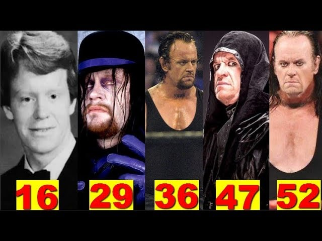Photo of The Undertaker★Transformation From 12 To 52 Years Old★