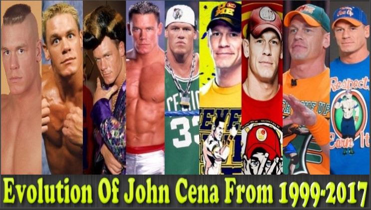 Photo of WWE- John Cena (The Champ) Evolution From 1999 – 2017