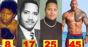 WWE The Rock ★Transformation From 1 to 45 Years Old★