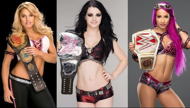 Photo of 50 Shocking WWE Divas Champion In Wrestling History