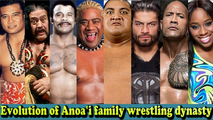 Photo of WWE Anoa'i Family Evolution From 1 To 16 Members (Peter Maivia – Roman Reigns)