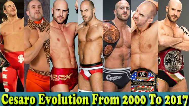 Photo of WWE Antonio Cesaro (Swiss Superman) Evolution From 2000 To 2017
