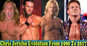 WWE Chris Jericho (Y2J ) Evolution From 1990 To 2017