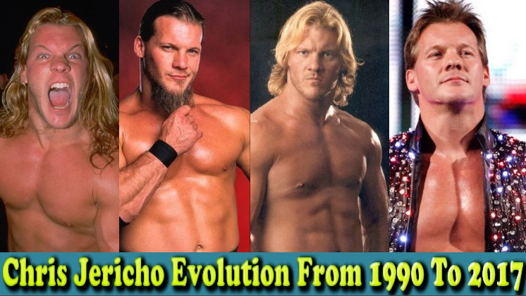 Photo of WWE Chris Jericho (Y2J ) Evolution From 1990 To 2017