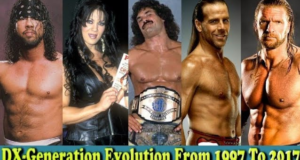 WWE DX Generation (DX) Evolution From 1997 To 2017