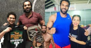 WWE Jinder Mahal (Man OF Peace) In Real Life You Need To See [HD]