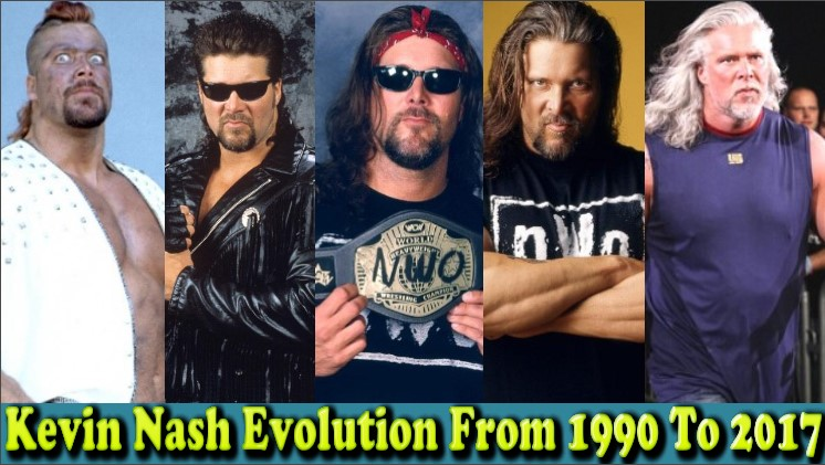 Photo of WWE Kevin Nash (Big Daddy Cool) Evolution From 1990 To 2017