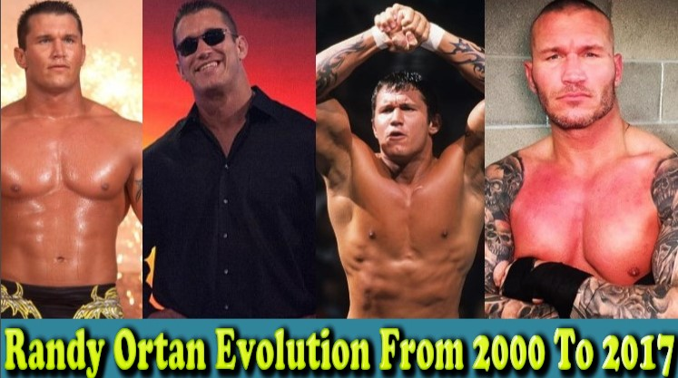 Photo of WWE Randy Ortan (The Viper) Evolution From 2000 To 2017