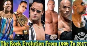 WWE The Rock (Dwayne Johnson) Evolution From 1996 To 2017