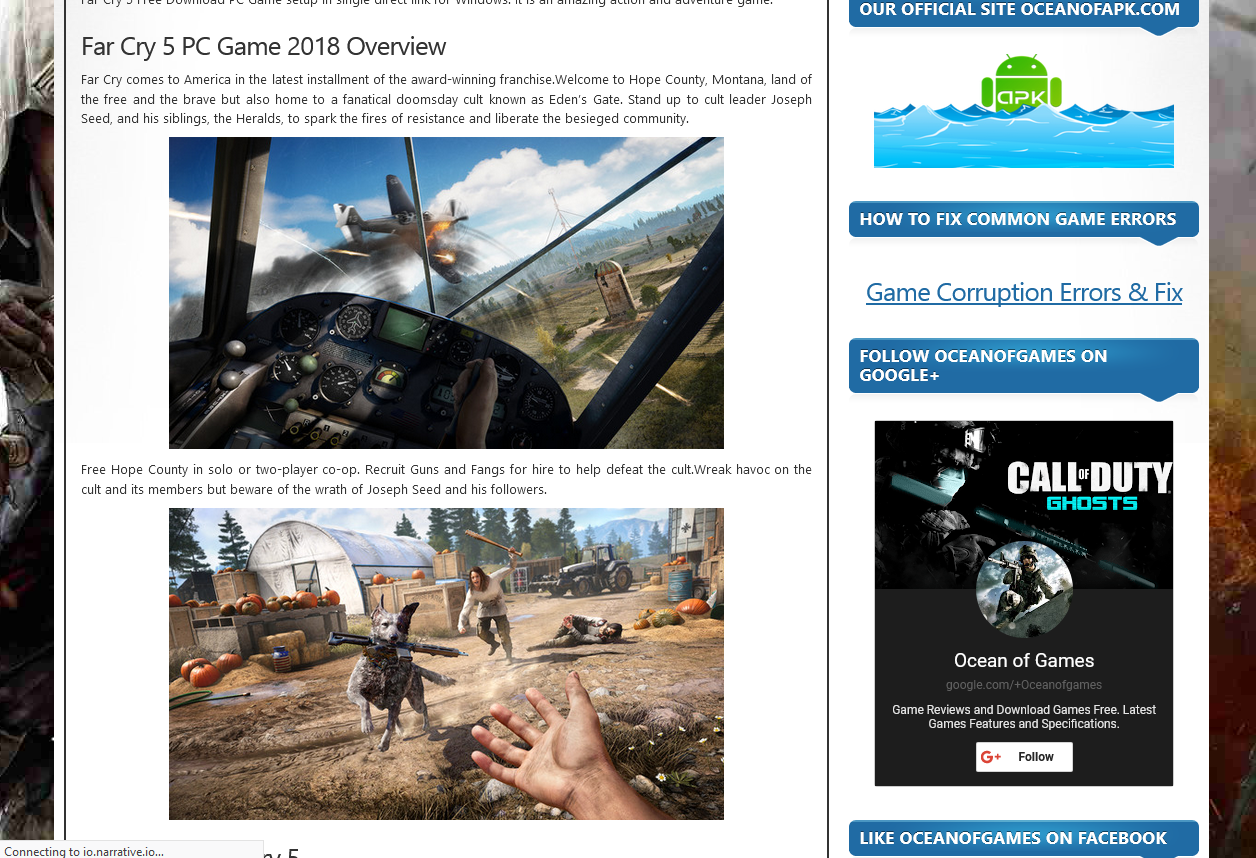 Photo of How to Download  Far Cry 5 From Ocean Of Games In Hindi/Urdu