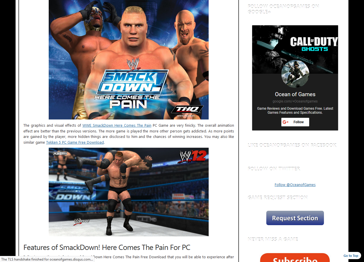 Photo of How to Download WWE Smack Down Here Comes The Pain From Ocean of games in Urdu/Hindi