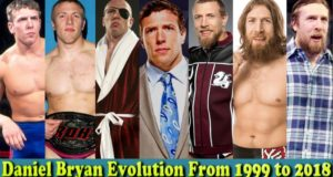 Daniel Bryan (American Dragon) Evolution From 1999 To 2018