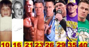 WWE John Cena ★Transformation From 1 To 41 Years Old★