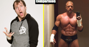Dean Ambrose Vs Triple H Comparison(Biography★Wife★Family★Income★Net Worth★ Finisher)