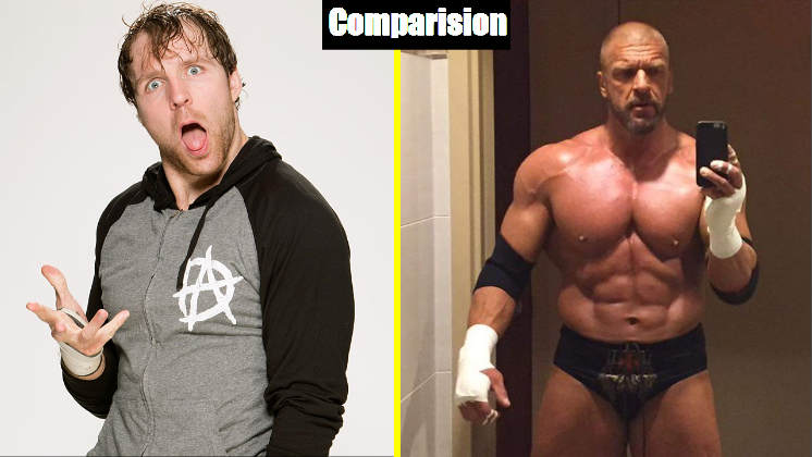 Photo of Dean Ambrose Vs Triple H Comparison(Biography★Wife★Family★Income★Net Worth★ Finisher)
