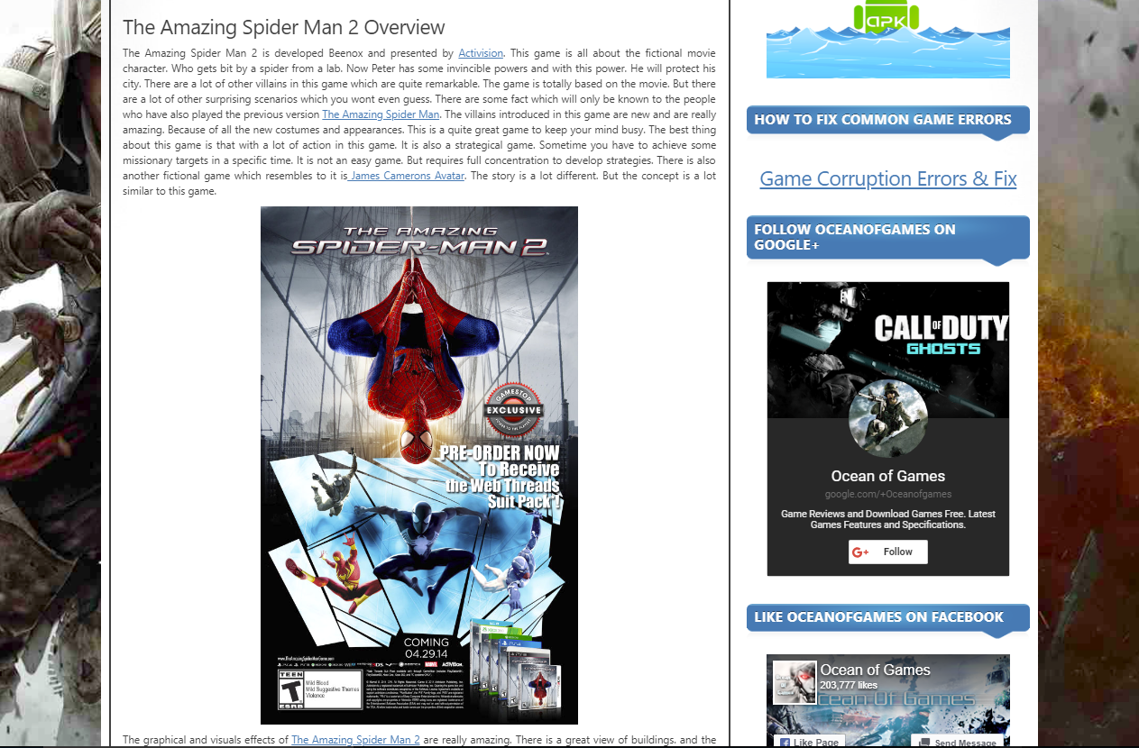 Photo of How to Download The Amazing Spider man 2 From Ocean of Games in Urdu/Hindi