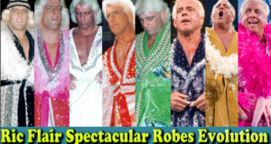 Ric Flair (Nature Boy) Spectacular Robes Evolution From 1972 To 2012