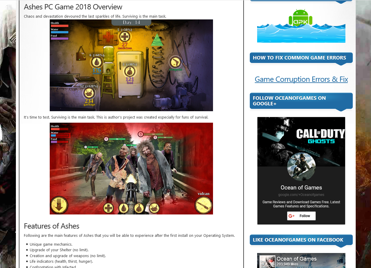 Photo of How to Download Ashes From ocean of games in Hindi/Urdu