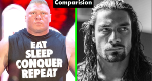 WWE Roman Reigns Vs Brock Lesnar Comparison(Biography★Wife★Family★Income★Net Worth★ Finisher)