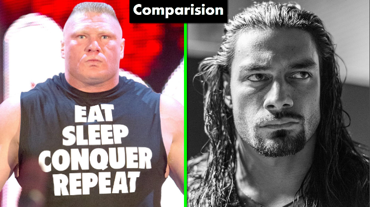 Photo of WWE Roman Reigns Vs Brock Lesnar Comparison(Biography★Wife★Family★Income★Net Worth★ Finisher)