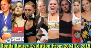 WWE Ronda Rousey (Arm Collector) Evolution From 2004 To 2018