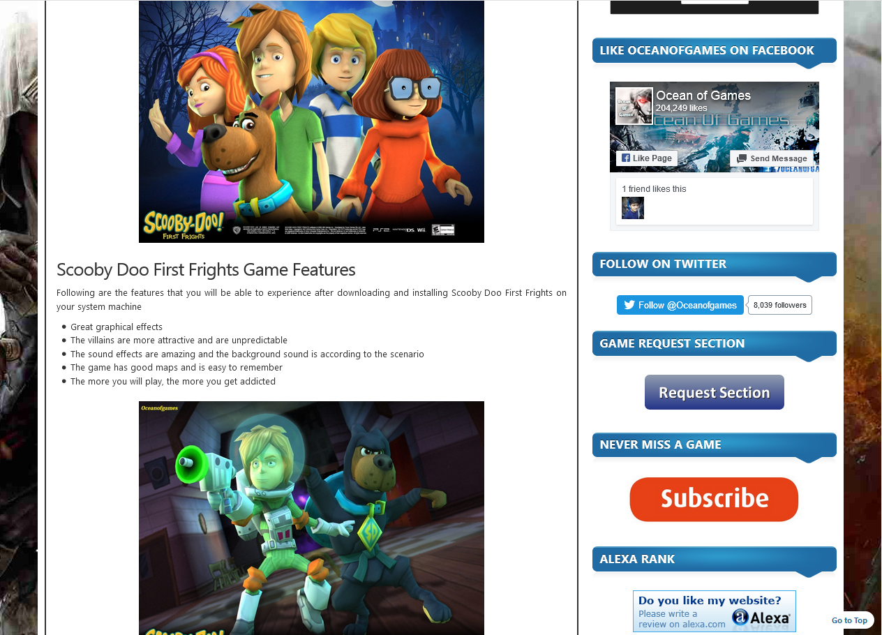 Photo of How To Download Scooby Doo First Frights From ocean of games in Hindi/Urdu