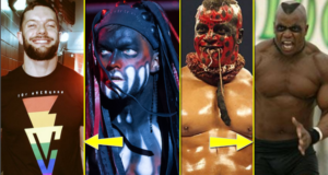 Top 10 WWE Wrestlers Without Face Paint and Face Mask In Real Life