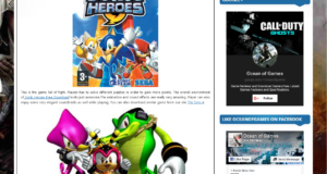 How To Download Sonic Heroes From ocean of games in Urdu/Hindi
