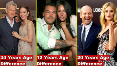 Photo of Top 8 Shocking Celebrity Couples With Big Age Differences [HD]
