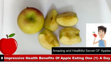 Photo of 8 Impressive Health Benefits or Secrets Of Apple Eating One (1) A Day [HD]