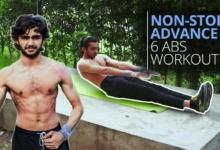 Photo of Non Stop 6 Minutes ABS Advanced Workout Get Perfect ABS In 30 Days
