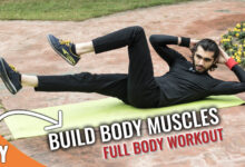 Photo of Build Body Muscles(Full Body Home Workout) For Purely Beginners |No Equipment
