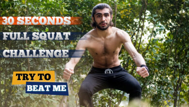 Photo of 30 Seconds Full Squats Challenge! Can You Do More?(Try To Beat Me)