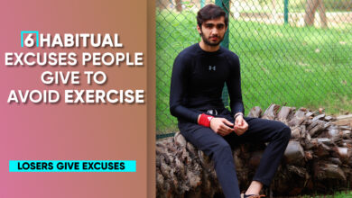 Photo of 6 Habitual Excuses People Give To Avoid Exercise