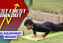 Photo of Build Chest At Home In 4 Weeks | 9 Exercises